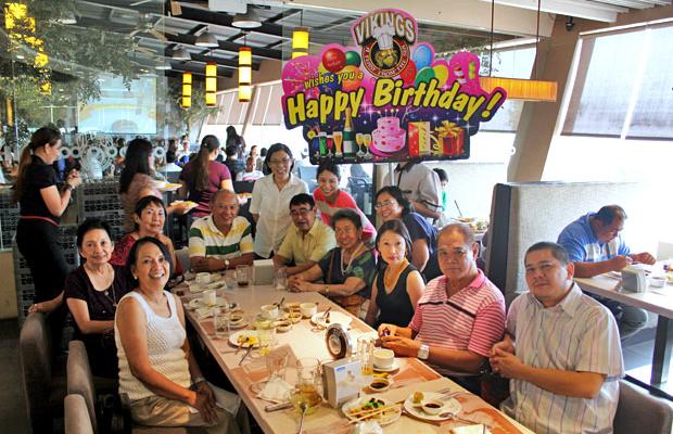 Weekday Birthday Buffet at Vikings