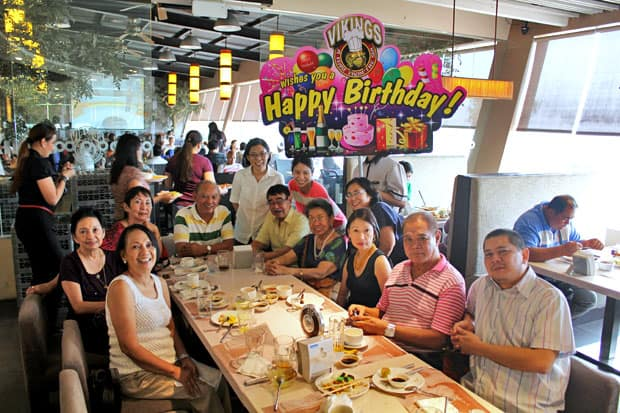 Weekday Birthday Buffet at Vikings