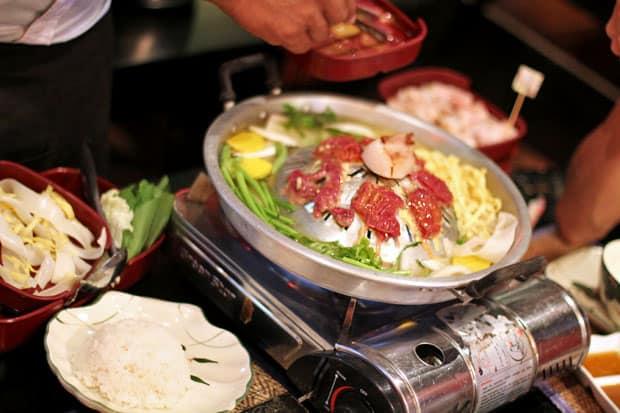 Cambodian BBQ (Phnom Pleung)