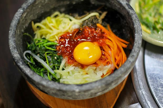 Valentine's Day Lunch at Masil Korean Charcoal Grill
