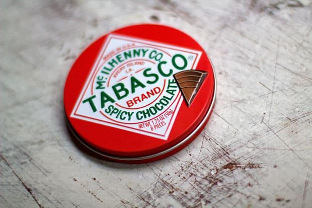 Tabasco Chocolate?!  That's Hot.