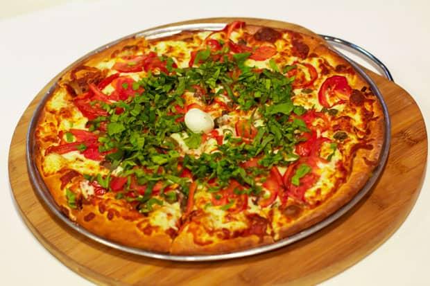 Pizza: Steveston Pizza's Margarite Zero