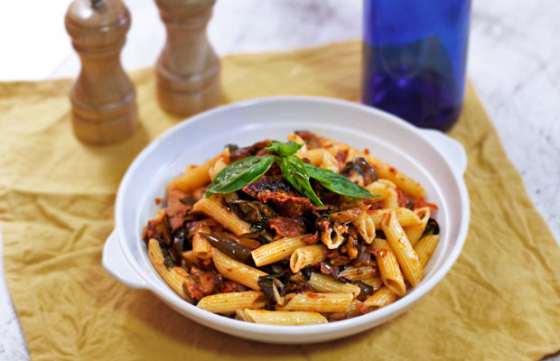 Pasta alla Renee and Sushi Bytes' 500th Post
