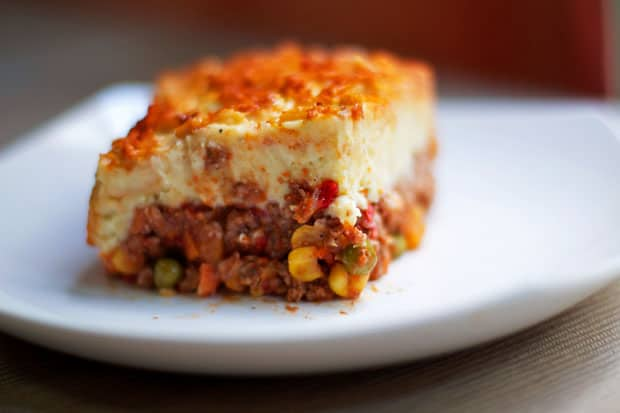 On the Strangeness of Shepherd's Pie