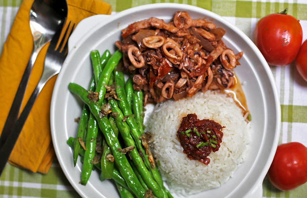 Sambal Sotong (Cuttlefish, Squid, or Octopus)