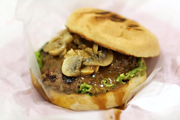 Beef Burger:  Big Better Burgers' Mushroom Loco