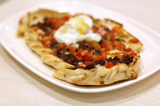 Pizza: Salt & Pepper's Ground Beef Pide