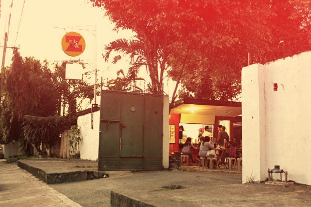 The Z Compound:  An Awesome Little Food Court on Malingap Street