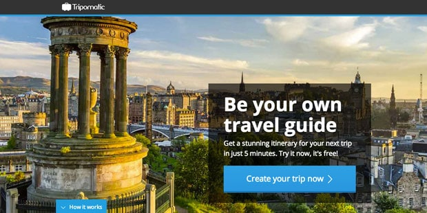 Plan your Trip with Tripomatic!