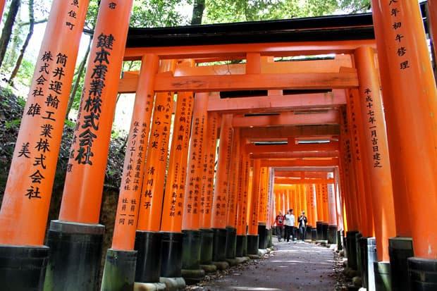 Fushimi Inari Shrine:  Walking through a Tunnel of Orange in Kyoto, Japan