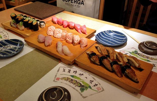 Jinen Shimizucho:  A Lesson in Sushi in Osaka, Japan