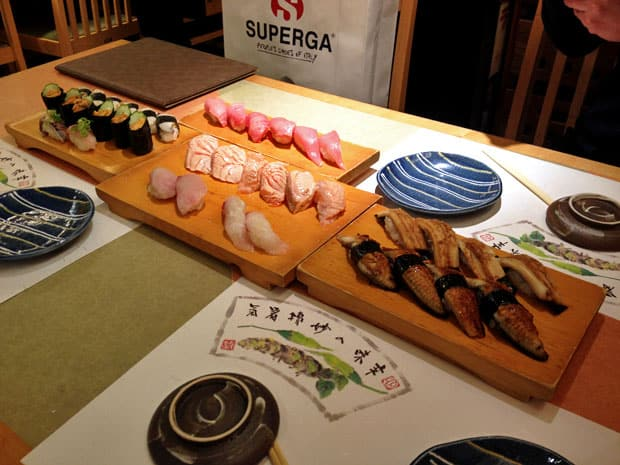 Jinen:  A Lesson in Sushi in Osaka, Japan