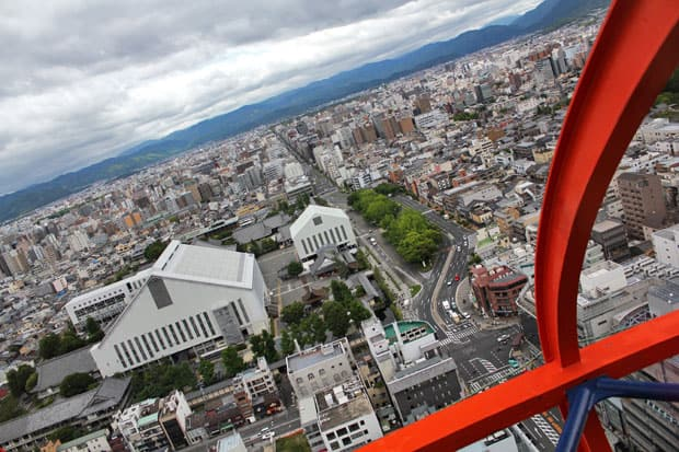 Kyoto Tower: A Spectacular 360° View of Kyoto, Japan