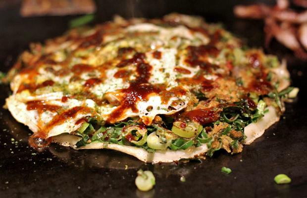 Donguri: Where to Eat Okonomiyaki in Kyoto, Japan