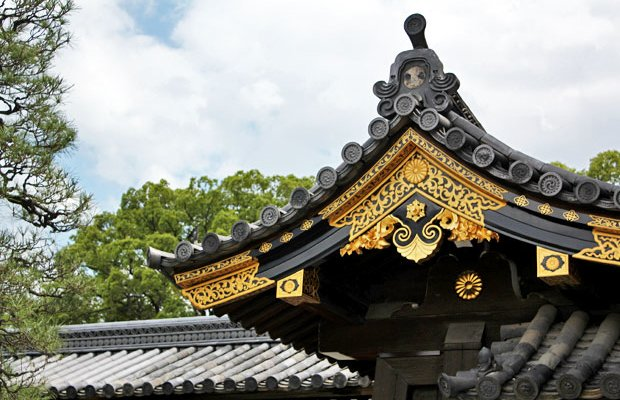 The Bigger the Ninja, the Louder the Nightingale at Nijō Castle in Kyoto, Japan