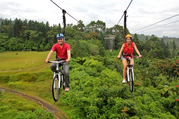 A Rush of Adrenaline at Eden Nature Park & Resort, Davao