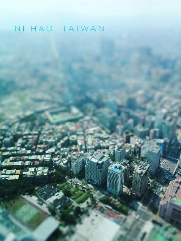 As Far as the Eye can See at Taipei 101, Taiwan