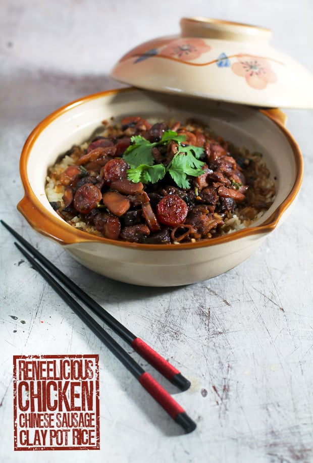 Chicken & Chinese Sausage Clay Pot Rice