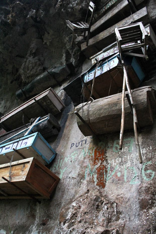 The Hanging Coffins of Echo Valley, Sagada, Mountain Province
