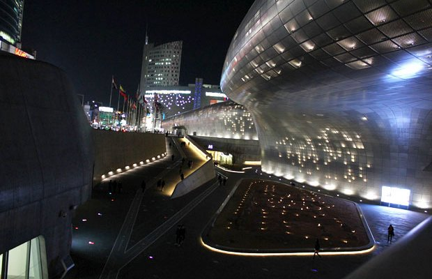 See the Future of Design at Dongdaemun Design Plaza (DDP) in Seoul, South Korea