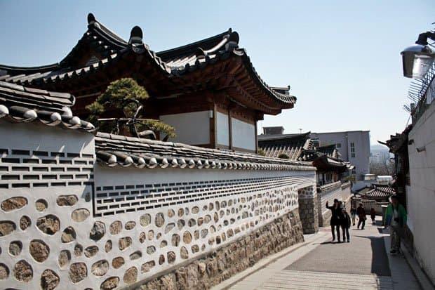 Meet an Old Seoul at Bukchon Hanok Village, Seoul, South Korea