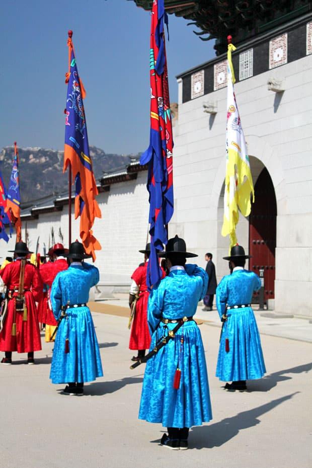 Snapshots from Changdeokgung & Gyeongbokgung Palaces in Seoul, South Korea