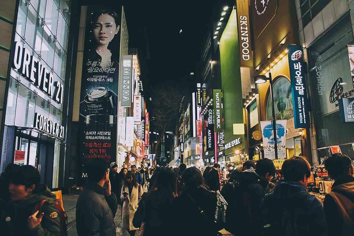 Shop & Eat like there's no Tomorrow at Insadong, Myeongdong, and Hongdae in Seoul, South Korea