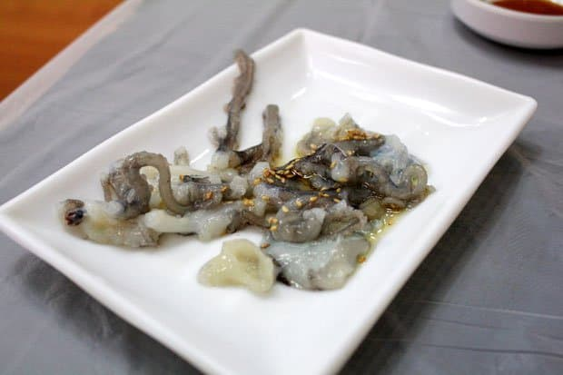 "Sannakji: Eating ""Live"" Octopus at Noryangjin Fish Market in Seoul, South Korea"
