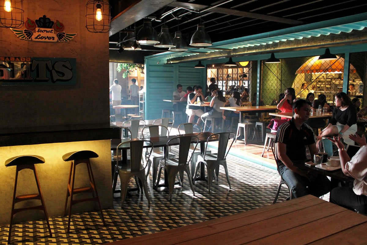 Take your Pick at Hole in the Wall, an Uber Trendy Food Hall in Makati