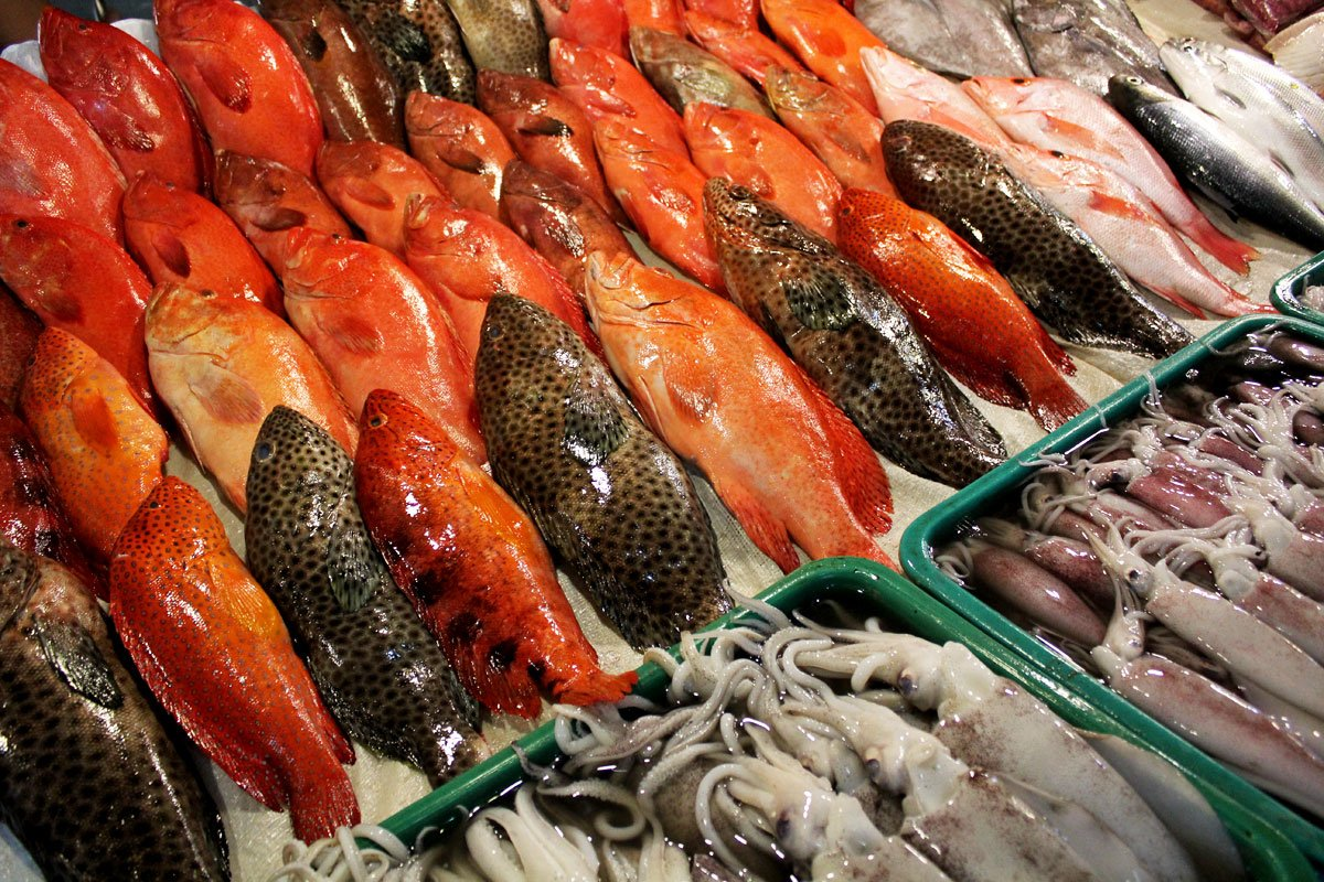 Fish Tank to Table Dining at the Seaside Market on Macapagal Boulevard