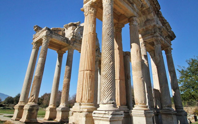 Give Thanks to the Goddess of Love at Aphrodisias in Geyre, Turkey