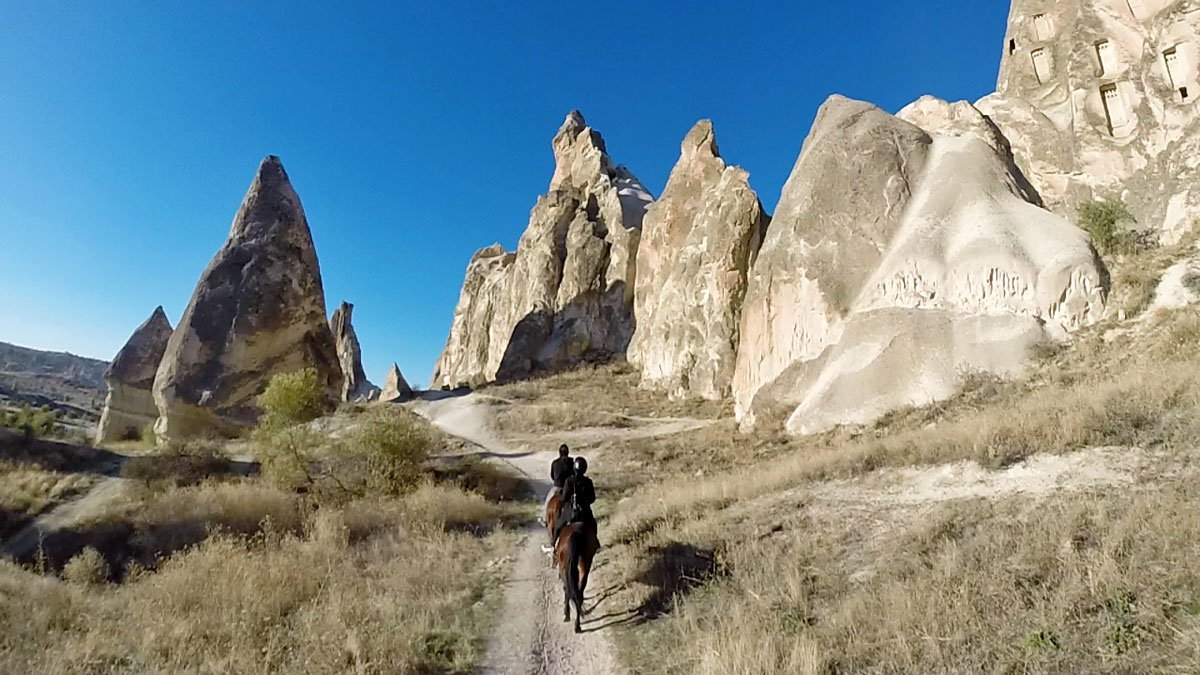Horseback Riding with Bridge of the World