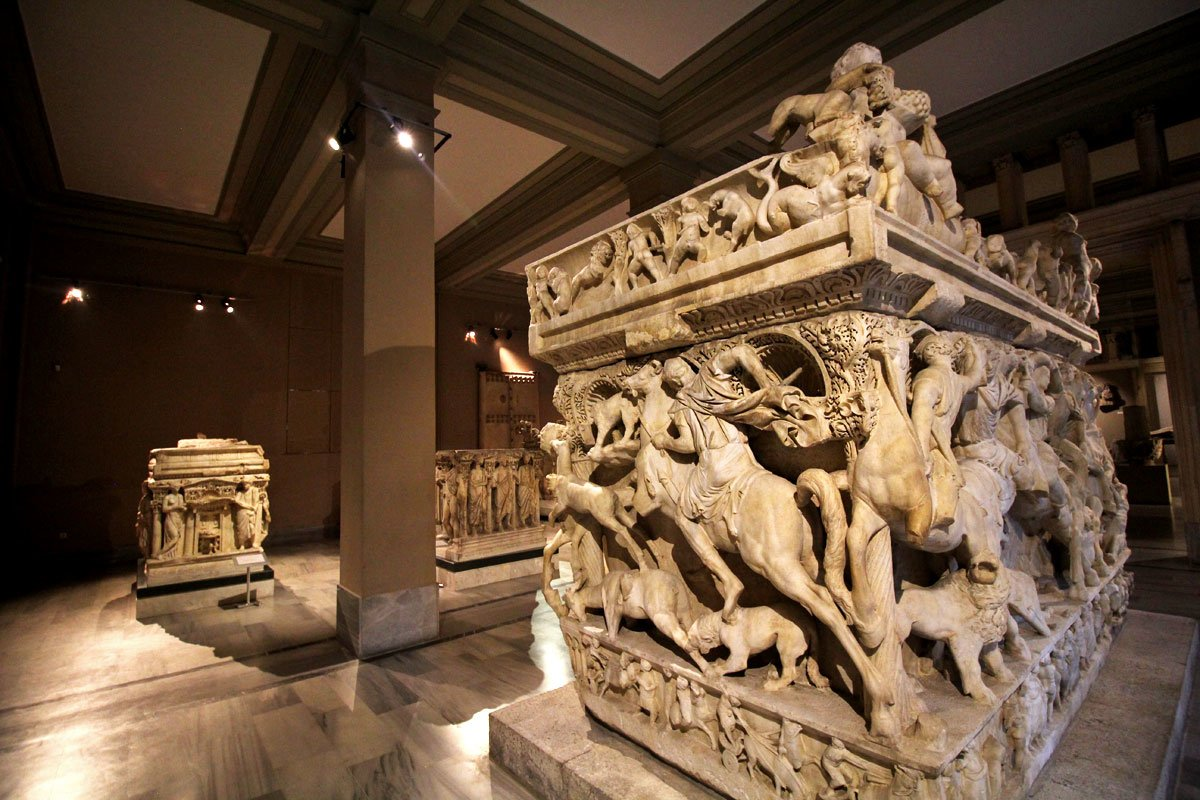 History Carved in Stone at Istanbul Archaeology Museums, Turkey