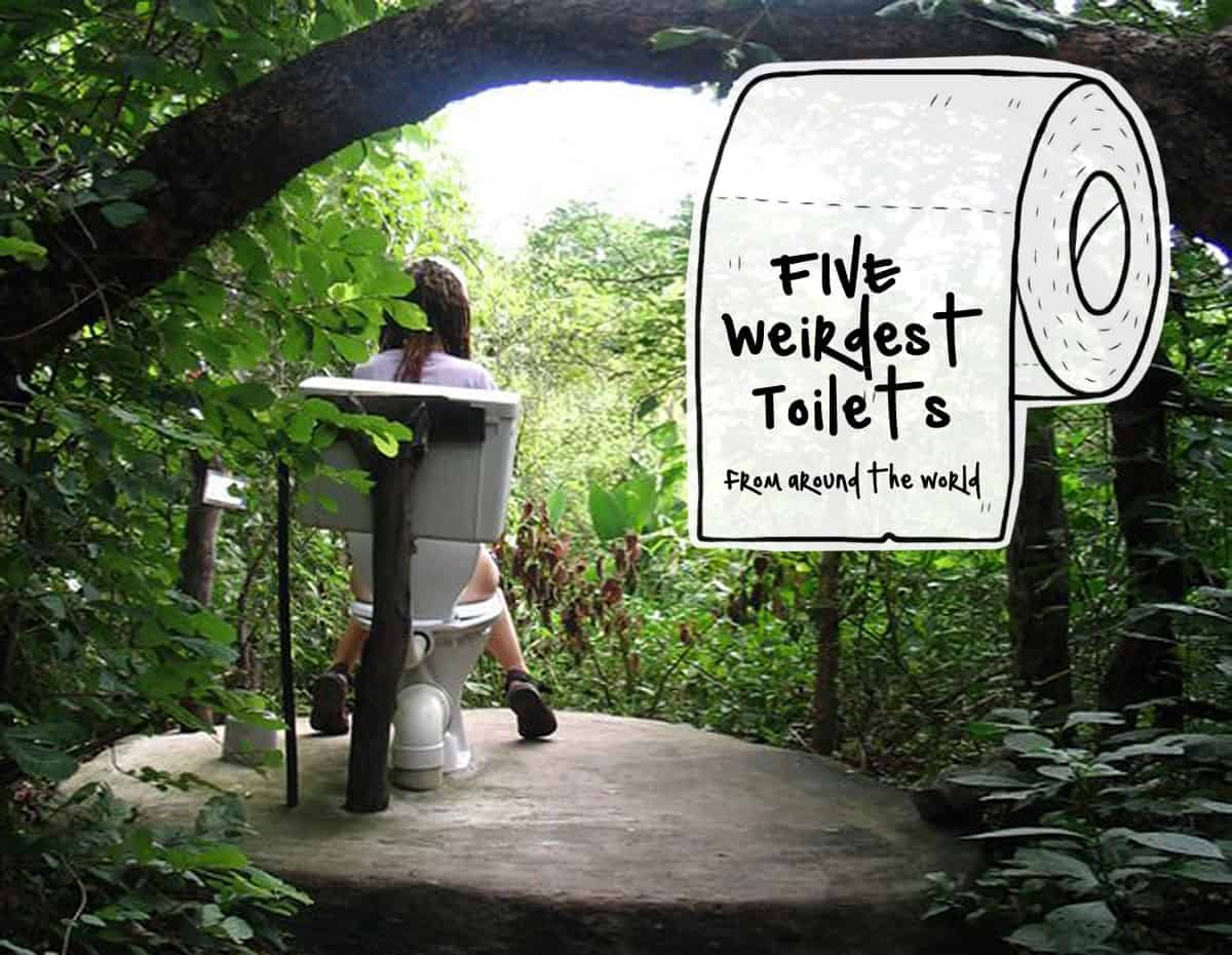 5 Weirdest Toilets from Around the World