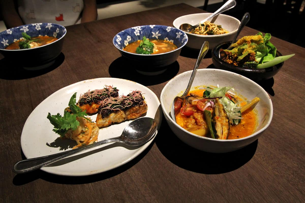 Modern Peranakan Ah-ma-kase at Candlenut in Singapore