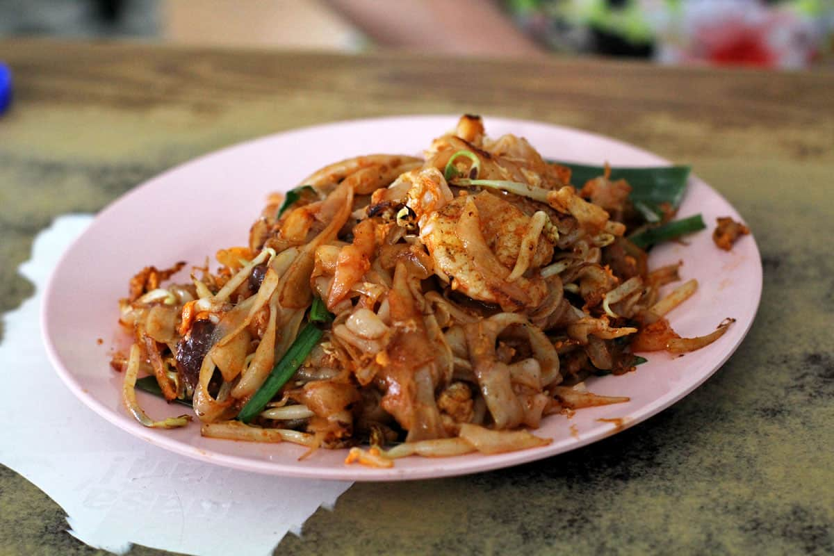 Char koay teow in Penang, Malaysia
