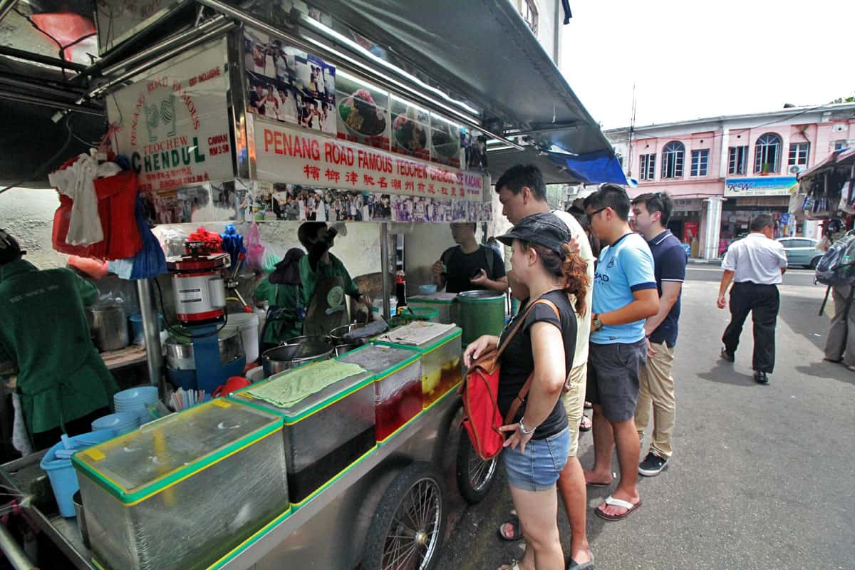 Penang Road Famous Teochew Chendul in Penang, Malaysia