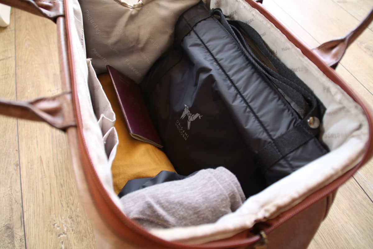 Organize Your Undies & Sundries While Traveling with the TUO from Origami Unicorn