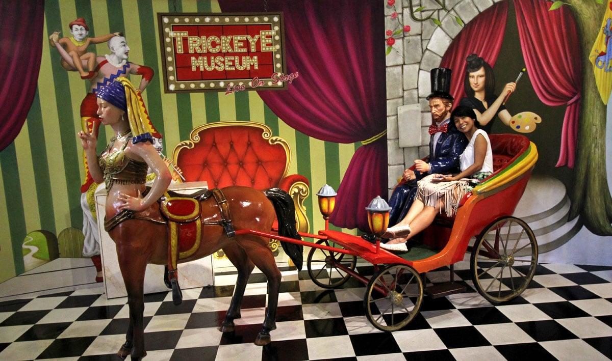 Art Comes to Life at Trick Eye Museum, Resorts World Sentosa, Singapore