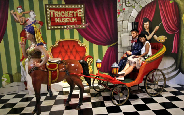 Art Comes to Life at Trick Eye Museum, Resorts World Sentosa, Singapore