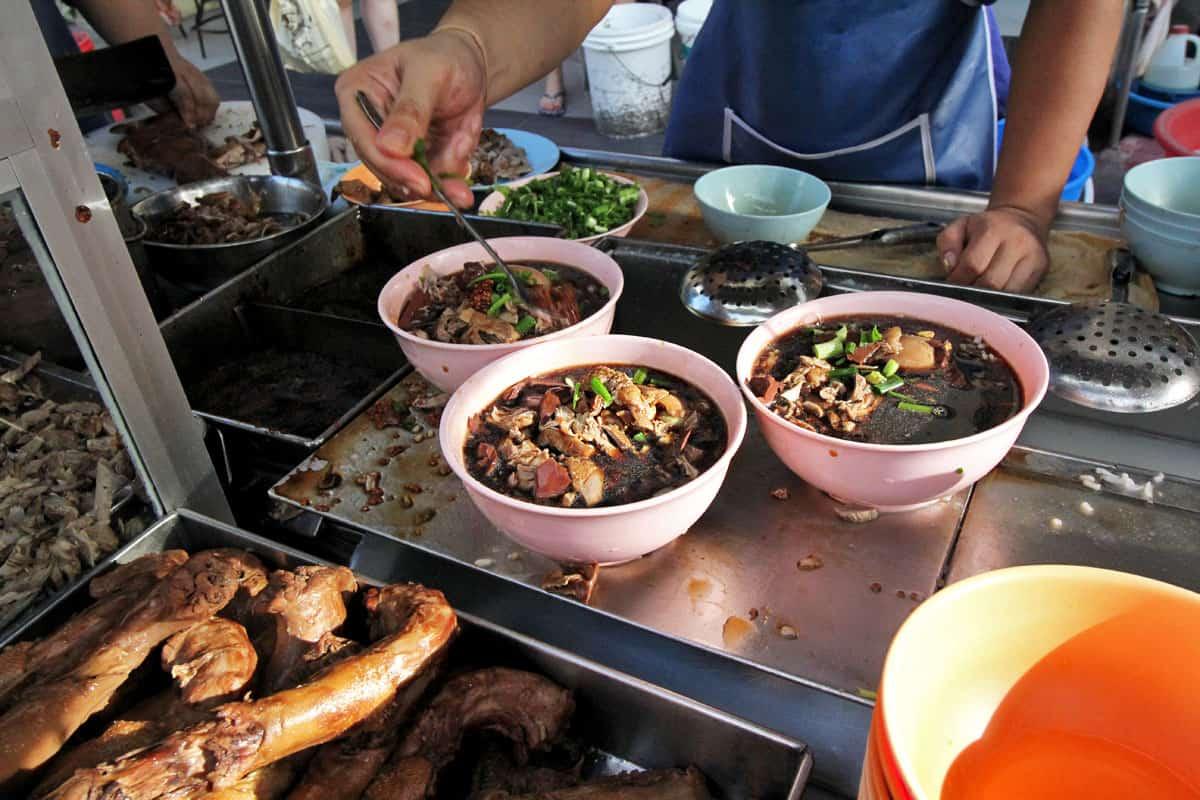 Duck Koay Chap at Restoran Kimberly in Penang, Malaysia
