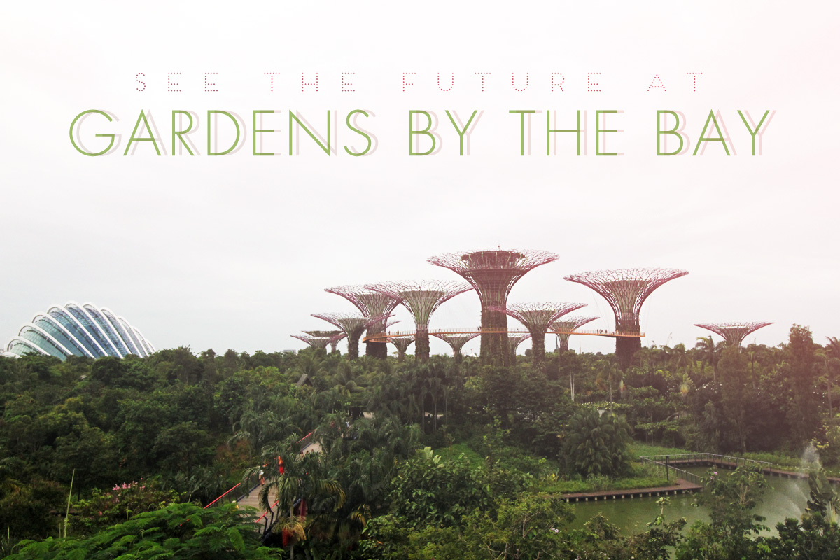See the Future at Gardens by the Bay in Singapore