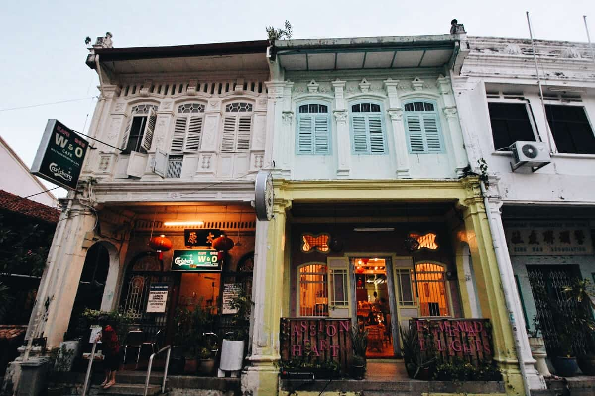 Explore the Heritage Houses of George Town, Penang: A UNESCO World Cultural City in Malaysia