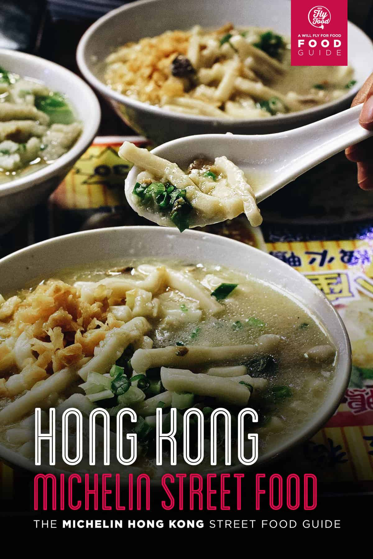 Bowl of noodles, Hong Kong