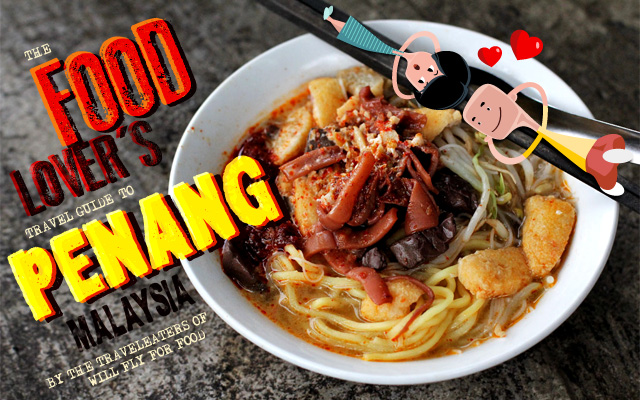 INFOGRAPHIC:  The Food-Lover's Travel Guide to Penang, Malaysia