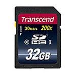 Transcend 32 GB Class 10 SDHC Flash Memory Card