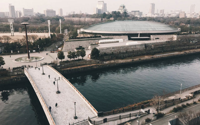 Where to Stay in Osaka, Japan: New Otani Osaka Hotel