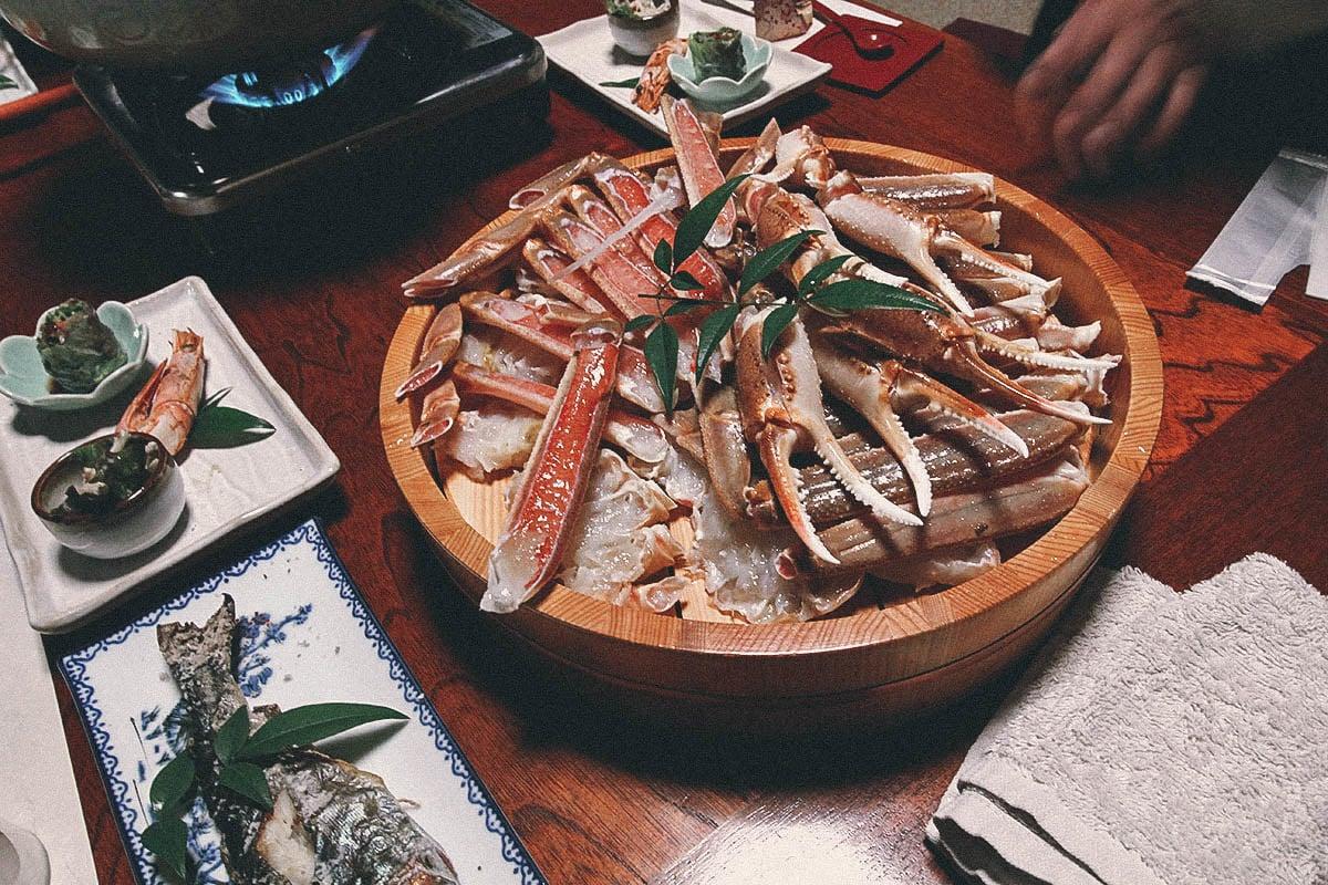 Matsuba Crab, Nashikisou, Hyogo, Japan