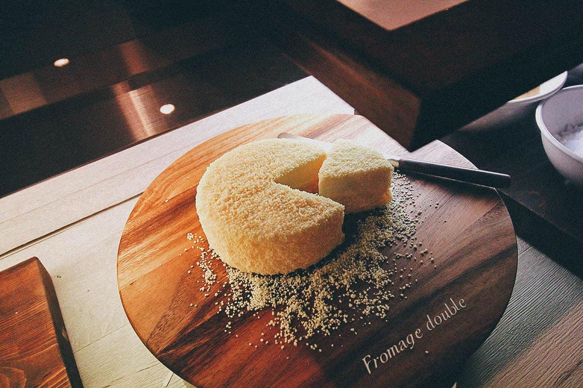 Double Fromage Cheesecake from LeTao
