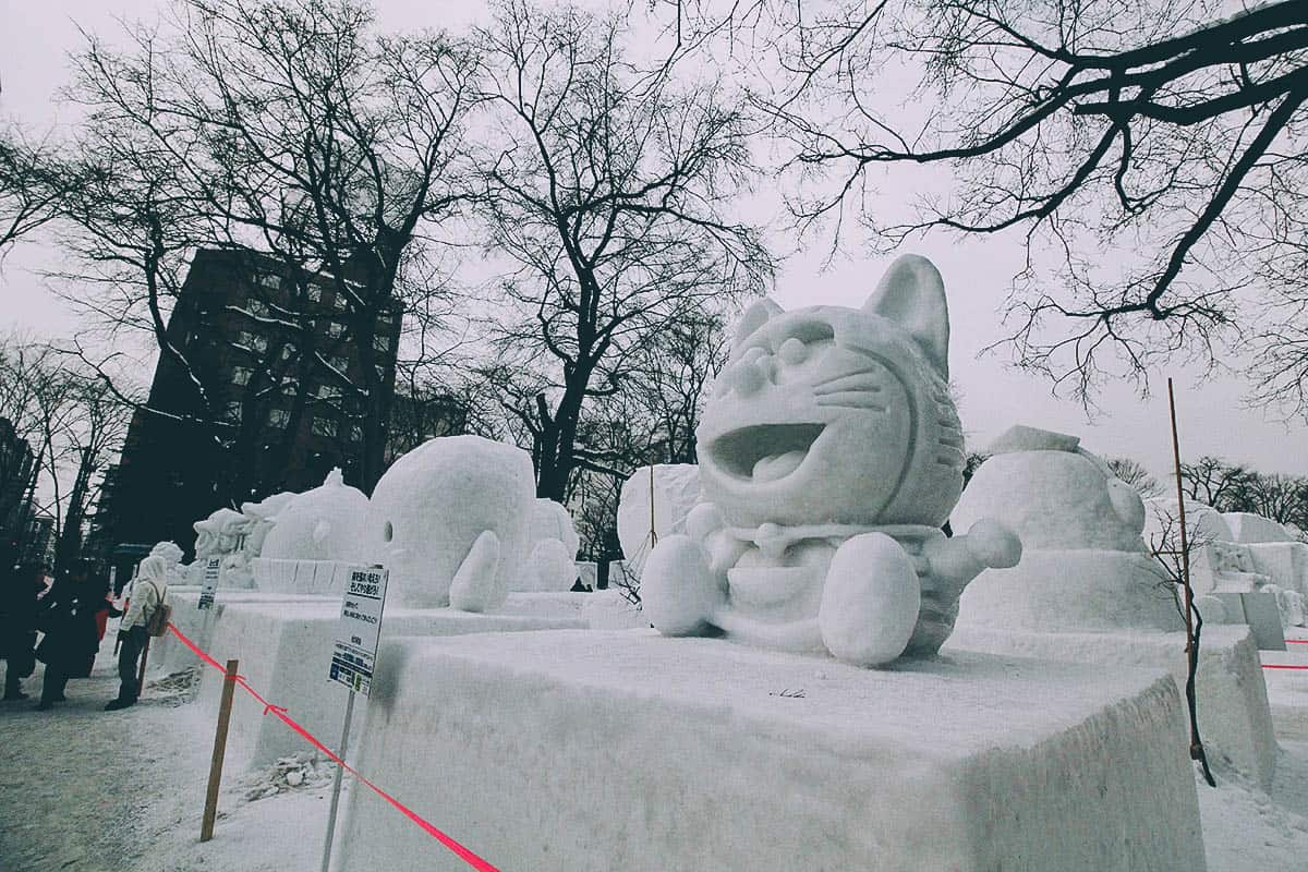 Sapporo Snow Festival:  A Week of Snowmen, Ice Sculptures, and PPAP in Hokkaido, Japan